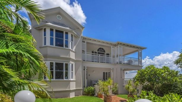 30 Waverley Street, Teneriffe, will go to auction on May 21. Photo: Ray White New Farm