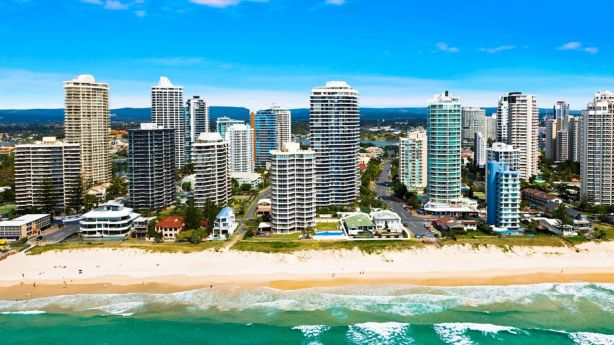 M3565 sits on Main Beach, a popular stretch of real estate on the Gold Coast. Photo: Supplied