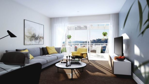 A neutral colour scheme accentuates the spaciousness of the interiors. Photo: Supplied