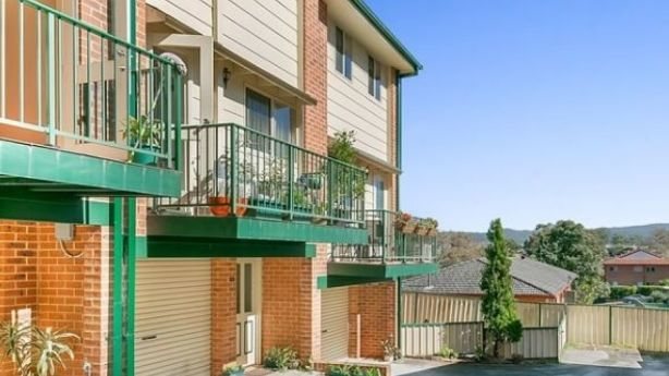 This two-bedroom townhouse sold in May for $410,000 – just short of Gosford's median house price of $412,500. Photo: Supplied.