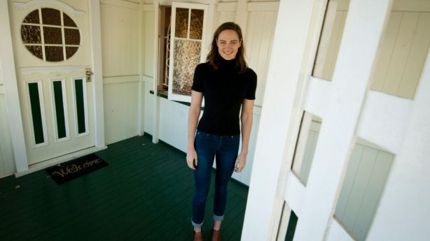 BRISBANE, AUSTRALIA - JUNE 02: Australian swimming champion Cate Campbell poses for a photo at the Morningside Queenslander home she recently bought on June 2, 2017 in Brisbane, Australia. (Photo by Robert Shakespeare/Fairfax Media) Photo: Robert Shakespeare