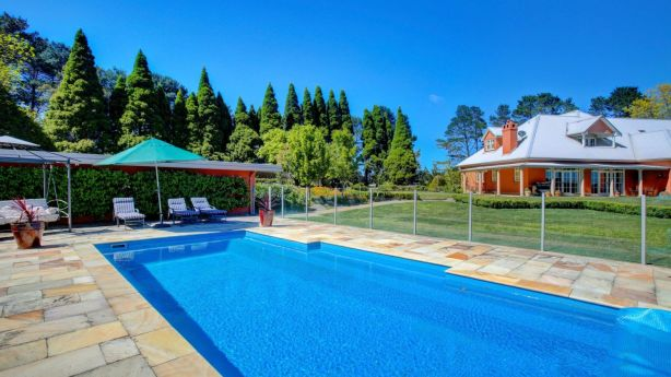 Iona Park comes with extensive equestrian facilities and a swimming pool. Photo: Supplied