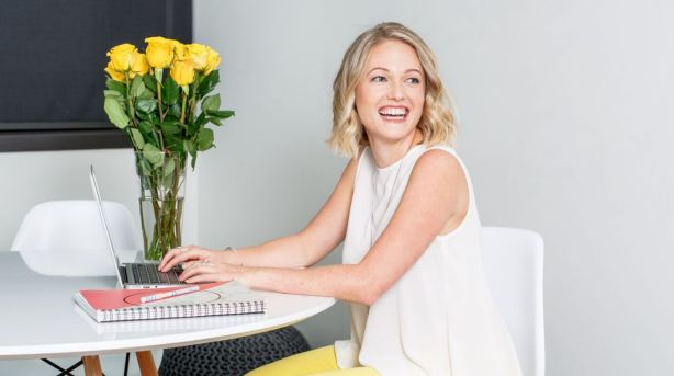 Professional organiser Louisa Dyson helps busy clients sort out their personal lives and homes. Photo: Supplied