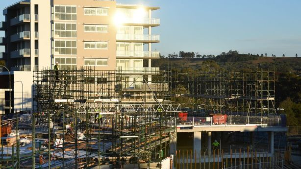 The suburb has seen significant development in recent years. Photo: Peter Rae