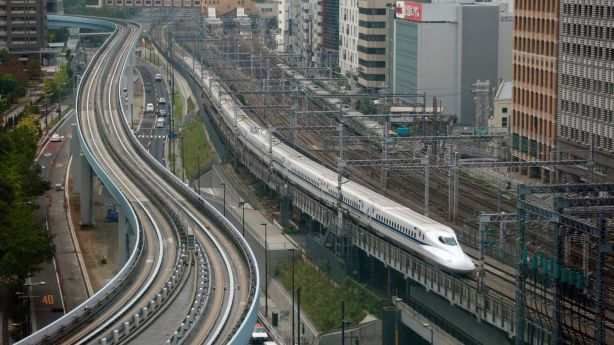 Tokyo city has by far the highest public transport usage in the world. Photo: AP