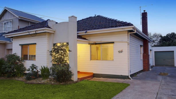 Surprise: 20 Jackson Street, Maidstone sold for $930,000 on Saturday.