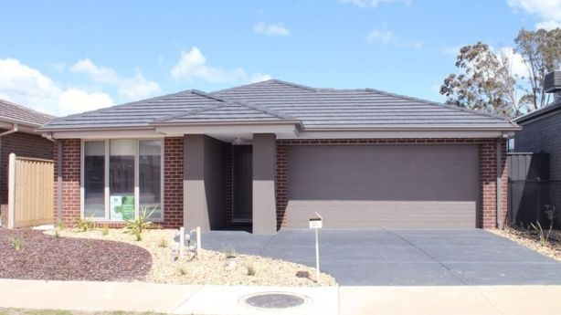 This recently built home in Clyde North is listed for $459,000 on Domain.com.au
