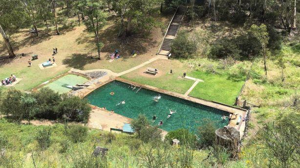 Yarrangobilly Caves thermal pool, Kosciuszko National Park, New South Wales. Photo: Daniel Spence