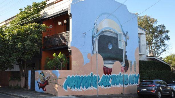 Sydney's Inner West Council program deterring graffiti with street art