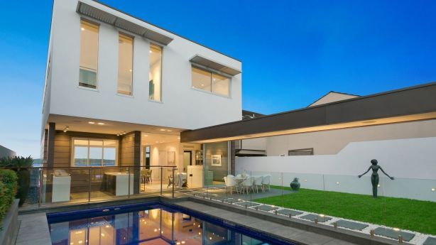 Nic Yates, of The Agency, listed this Superba Parade house with a $9 million guide. It sold for close to $10 million. Photo: Supplied