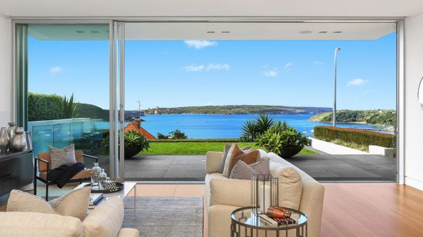 It took two hours for a buyer speaking only Mandarin to buy this Balmoral slopes house for about $10 million. Photo: Supplied