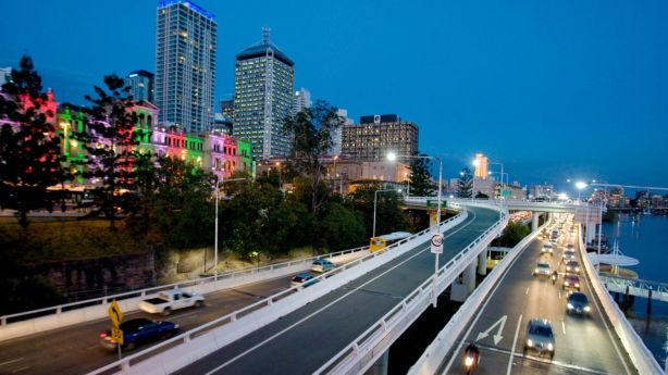 The commute in Brisbane is very different to interstate roads. Photo: Glenn Hunt