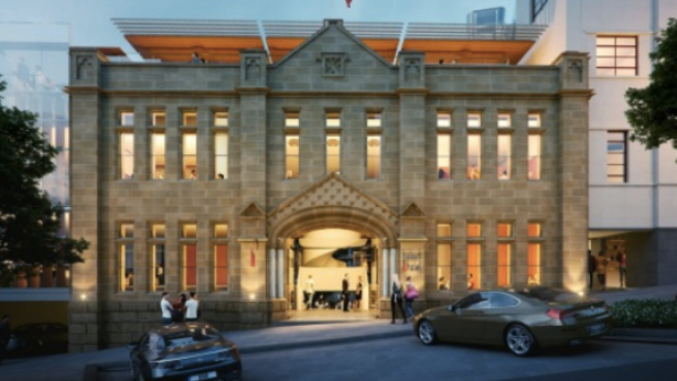 Marriott International will build the Luxury Collection hotel in a heritage Hobart building. Photo: Marriott