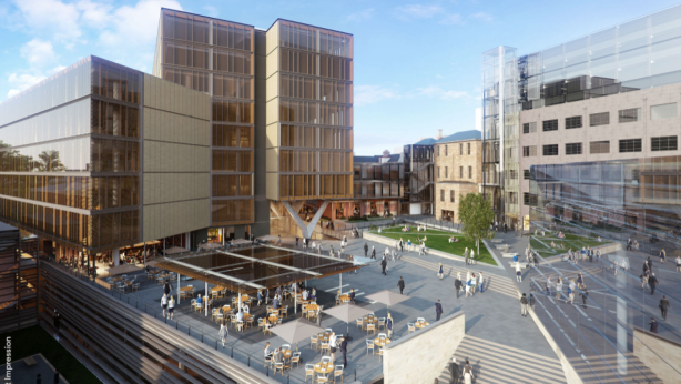 Hobart will see the $150 million redevelopment of Parliament Square, a 15,000-square-metre site backed by Citta Property Group. Photo: Parliament Square