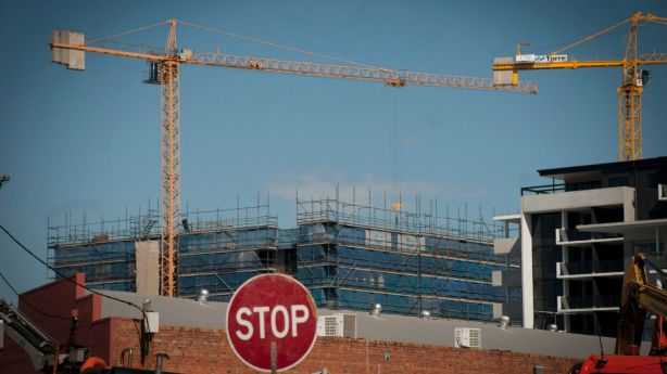 The rate of apartments being built in Brisbane is gradually slowing. Photo: Robert Shakespeare