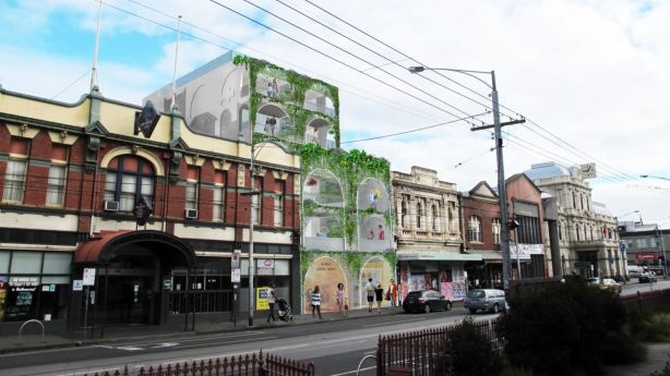 One of the proposed Nightingale projects in Brunswick, which had waiting lists as long as 800 people. Photo: Austin Maynard Architects