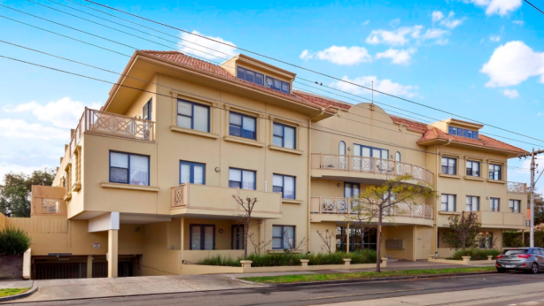 An apartment at 1083 Glen Huntly Road, Glen Huntly, sold for $648,000 on Saturday.