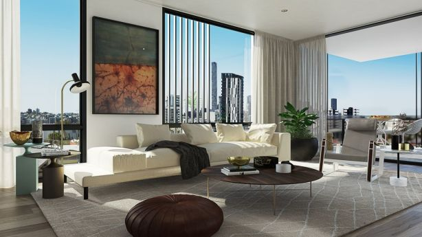 Developers are catering to downsizers looking for quality inner-city apartments. Photo: Sekisui House