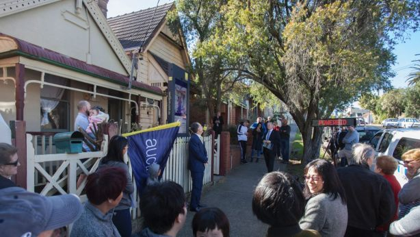 Melbourne's bridesmaid suburbs have recorded strong auction clearance rates. Photo: Fiona Morris