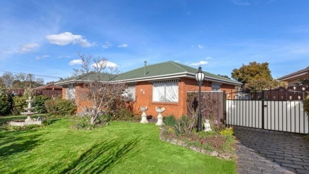 Sold: This three-bedroom house on Regal Avenue in Thomastown sold for $582,000. Photo: Harourts