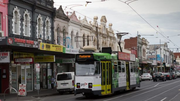 Many home buyers have been priced out of Footscray, once considered a bridesmaid suburb. Photo: Jason South