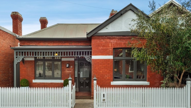 81 Erskine Street, Middle Park, sold for $2,090,000 on Saturday.
