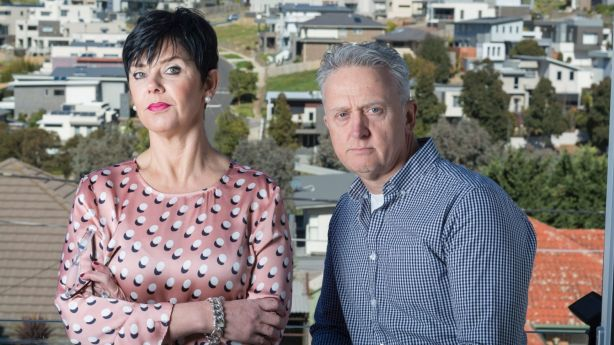 Lorraine and Martin Kilbane have fought their insurance company over mould contamination for five years. Photo: Michael Rayner