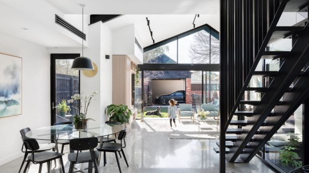 The impeccable period renovation and extension at 71 Cunningham Street, Northcote is the work of architects Bellemo & Cat. Photo: Jellis Craig