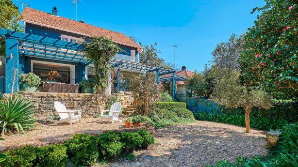 Annie Conley's Bellevue Hill home has a Will Dangar-designed garden Photo: Supplied