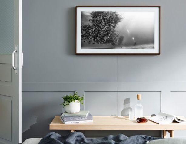 Samsung's The Frame TV is a great canvas for video art. Photo: Samsung