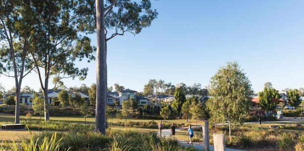 Residents at Ecco Ripley in Ipswich, Queensland, will have access to retail and medical services on site. Photo: Graham Jepson