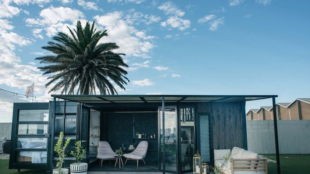 Contained create boutique tiny houses from shipping containers. Photo: Contained