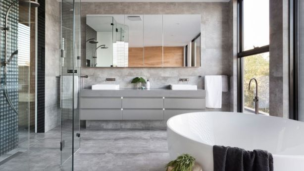 Thanks to the popular wellness movement, the bathroom is now considered a haven. Photo: The Real Estate Stylist