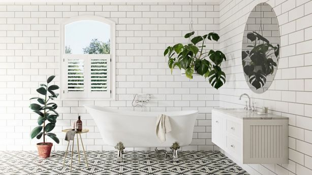 The verdict is in: The classic subway tile is here to stay. Photo: Kado Era from Reece