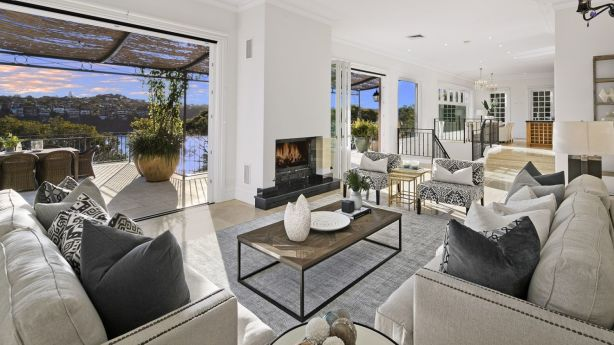Architect Gilberto Menandez used feng shui principles to design this Bay Street, Mosman, residence. Photo: Supplied