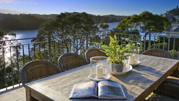 The geographical feng shui of Mosman's Beauty Point has lured a buyer from China this Golden Week. Photo: Supplied