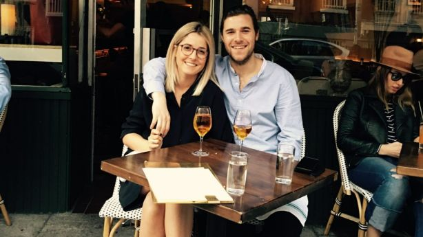 Claire Weller and Josh Evans made the move to the Big Apple two years ago.