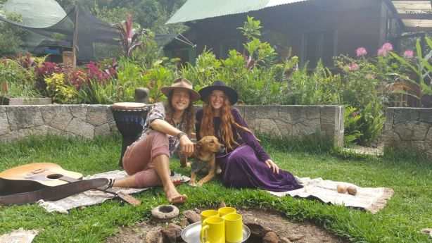 The couple met in 2016 while undertaking a meditation course at the Mystical Yoga Farm. Photo: Supplied