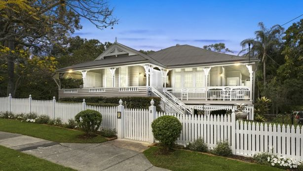 The historic Queenslander at 8 Waghorn Street, Woodend, has picture-perfect street appeal.
