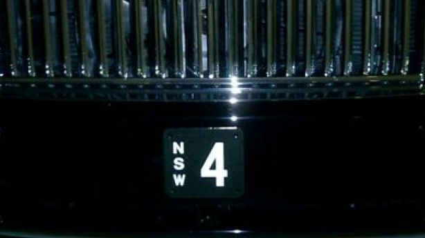 The No.4 licence plate, seen on the Rolls-Royce of Aussie John Symond, now belongs to wine collector and sex toy magnate Peter Tseng.