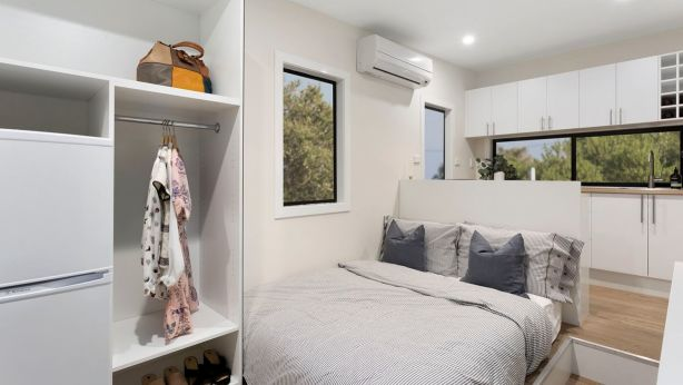 Tiny houses are seen as a sustained, low cost living option. Photo: Tiny Homes Australia
