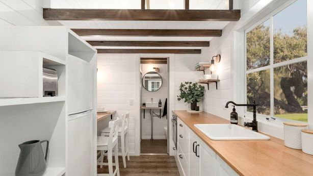 Compact living: Tiny houses are usually under 37 square metres. Photo: Tiny Homes Australia