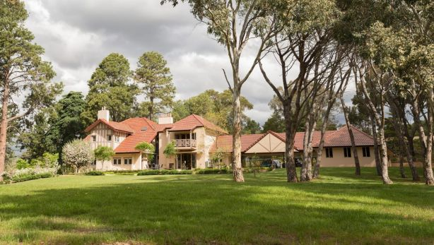 One of Canberra's oldest homes 'Westridge House' at 55 Banks Street Yarralumla sold for a record price. Photo: Supplied