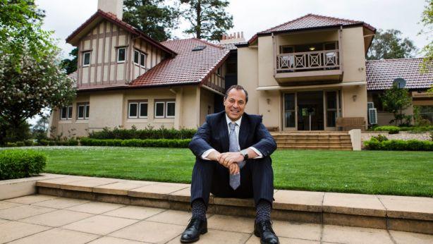 Sales consultant Mario Sanfrancesco at Westridge House. Photo: Jamila Toderas