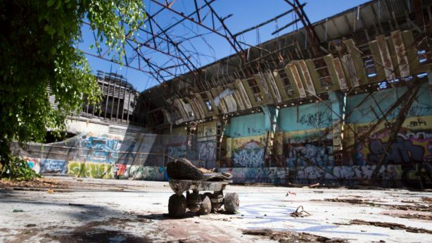 There is hope the abandoned Red Hill Skate Arena will be redeveloped. Photo: Tammy Law