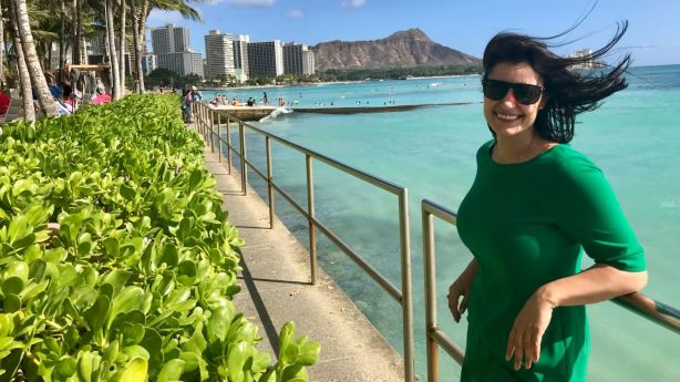 Ashlee Galea travelled to Hawaii more than 40 times before deciding to move there in 2015.
