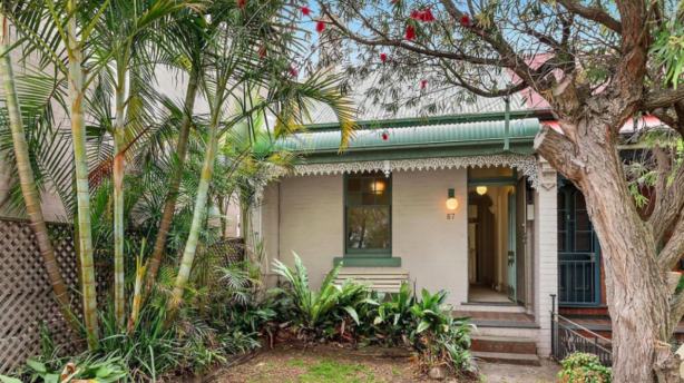 Classic semi: 67 Elliott Street, Balmain sold for $1.41 million.