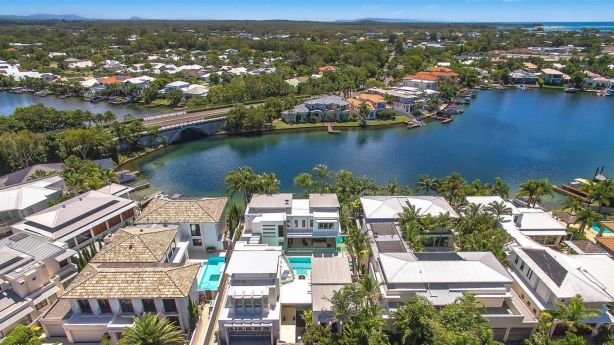 While some parts of Noosaville front the river, others don't - but they're still fetching over $1 million simply for their proximity to Noosa's main drag.