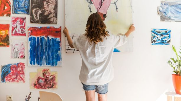 If investing in stocks and shares seems soulless, give art a go. Photo: Stocksy