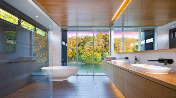 A house on Witta Circle designed by Brisbane-based architect Andrew Le. Photo: Supplied